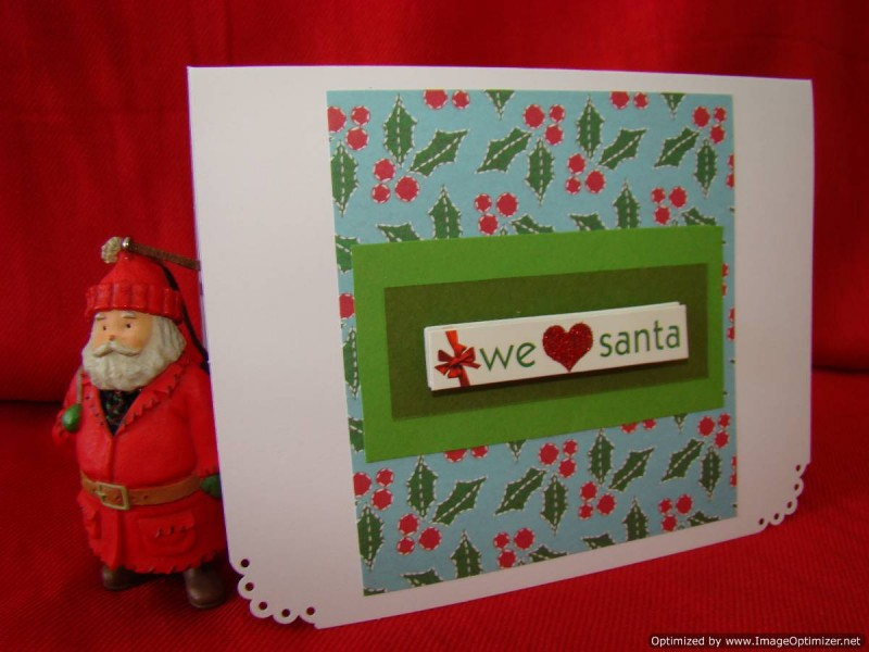 Holidays Christmas We Love Santa