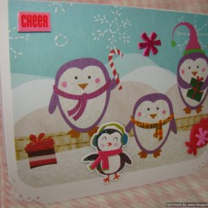 Holidays Christmas Penguin Cheer
