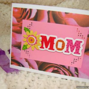 Occasions Mothers Day Pink Sparkle Mom