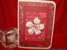 Holidays Valentines Day Large Flowered Words Of Love